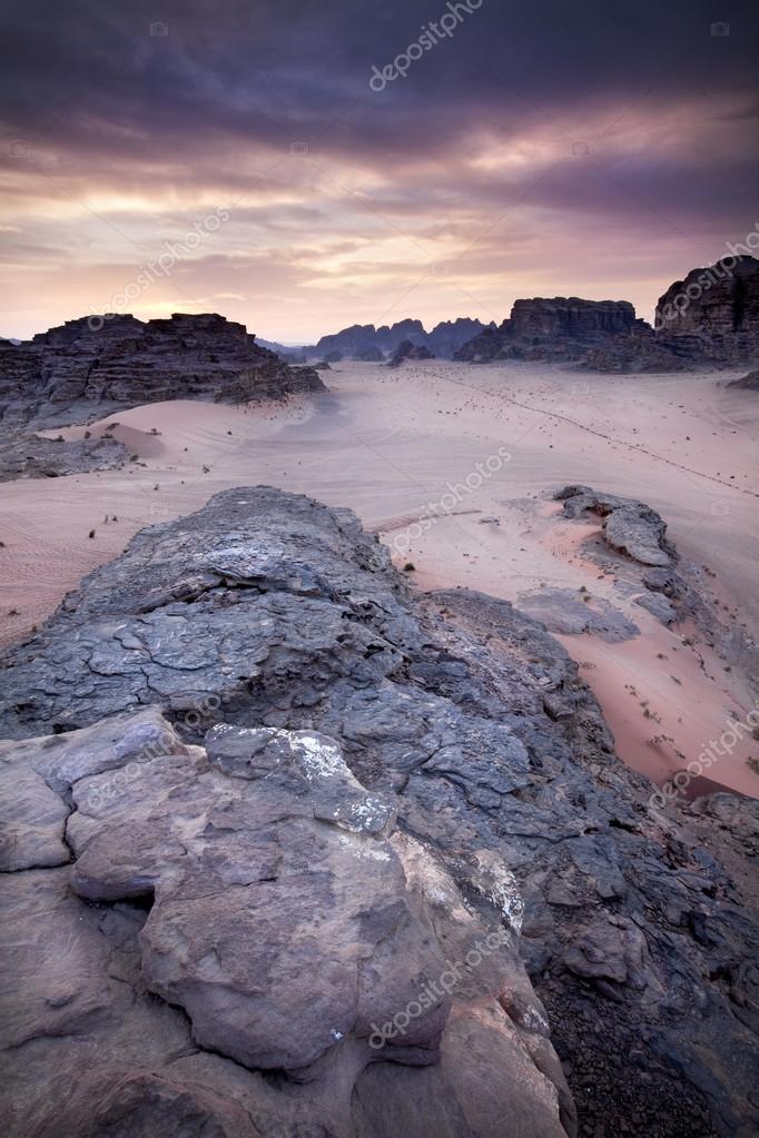 Sand storm in Sossusvlei