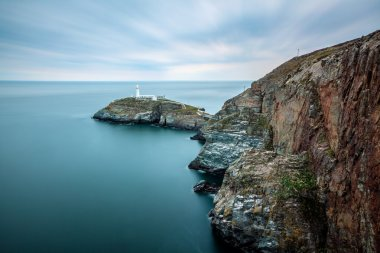 Holyhead lighthouse view