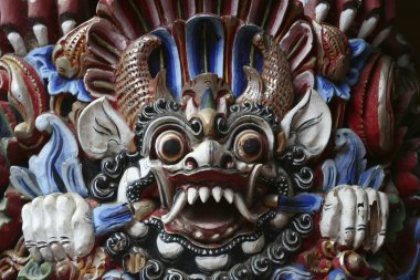 Details of an Indonesian Temple