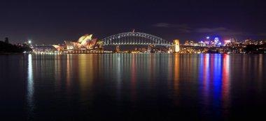 Vivid Sydney with illuminated