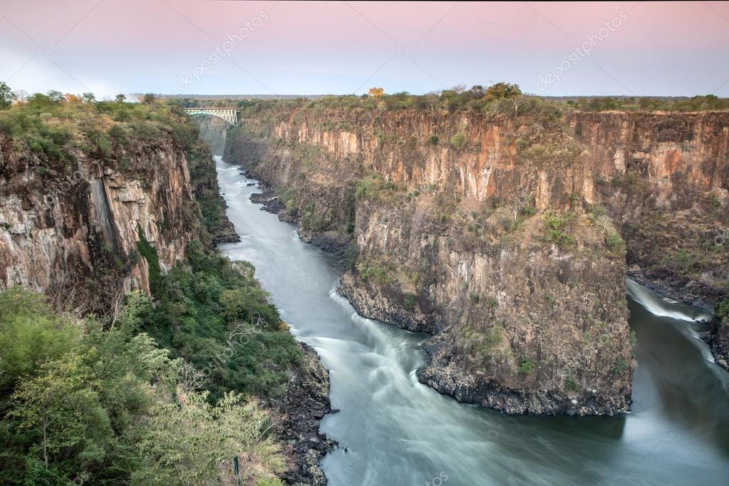 Bridge over Zambezi River
