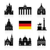 Fotografie Německo, Berlín cestování mezník.