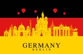 Fotografie deutsche fahne, berlin reisedenkmal.
