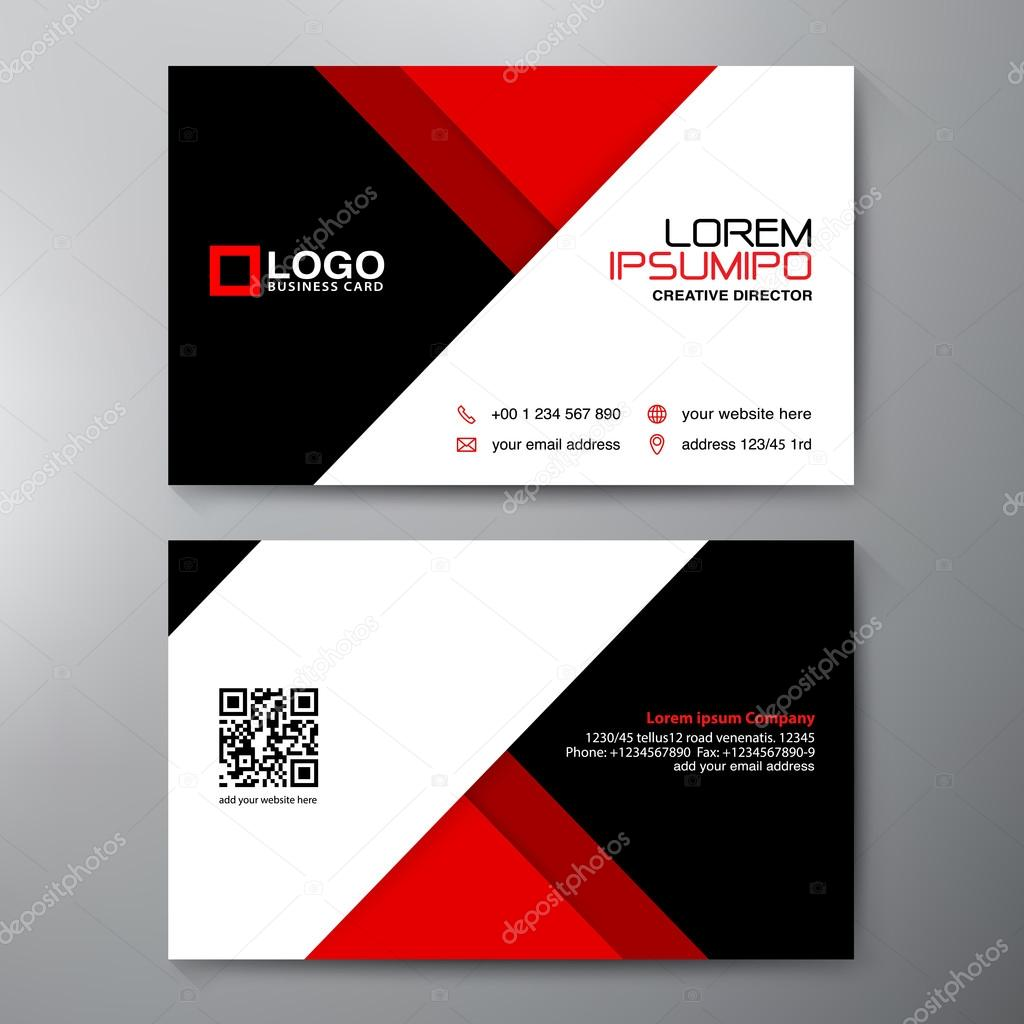 Modern business card design template stock vector modern business card design template stock vector reheart Images
