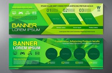 Modern Banner Business Design Template Background