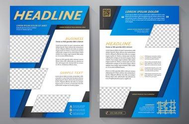Brochure design a4 template