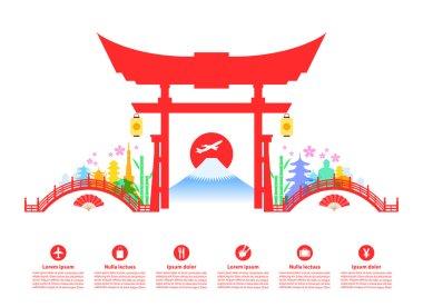 Japan Travel Landmarks.