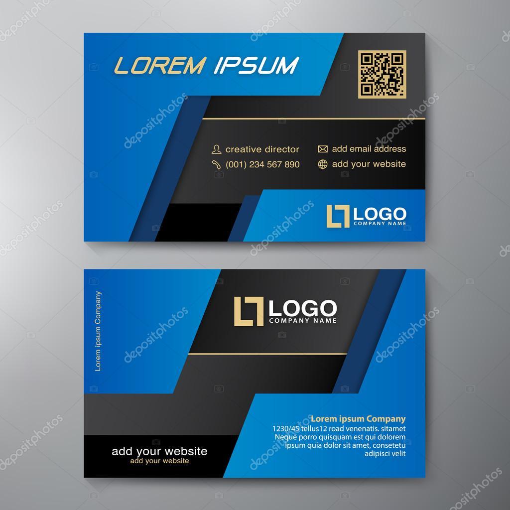 Modern business card design template stock vector modern business card design template stock vector friedricerecipe Gallery