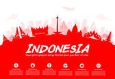 Photo Indonesia Travel Landmarks.