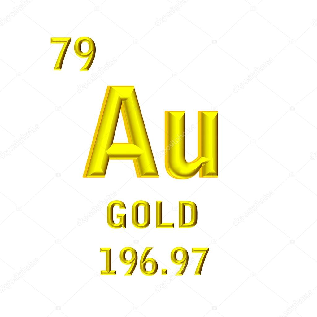 Gold Chemical Symbol Stock Photo Thmthm 55665465