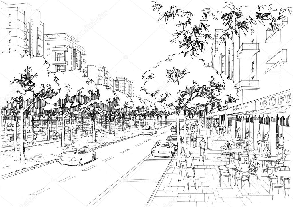 city street - 02