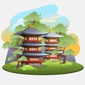 Fotografie Japanese landscape 2
