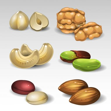 Set of nuts 2