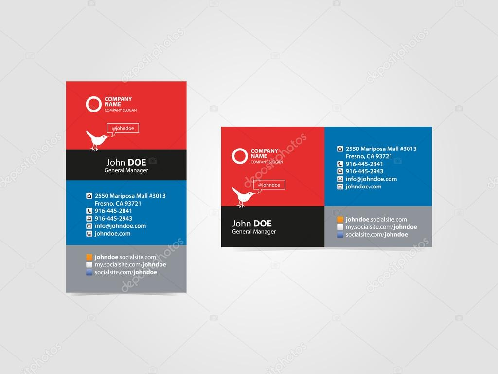 Social professional business card vector graphic template stock social professional business card vector graphic template stock vector reheart Choice Image