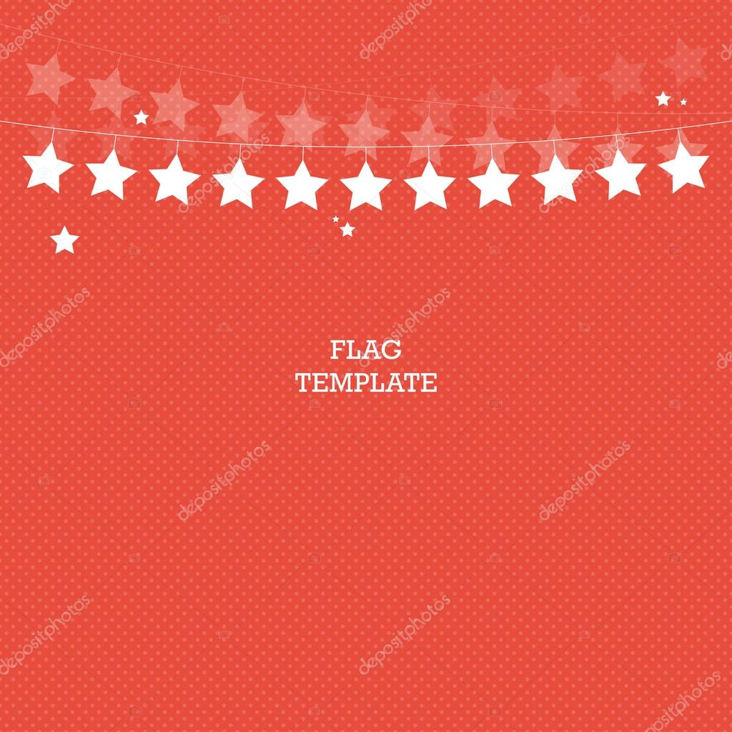 star banner background bunting or swag template for scrapbooking