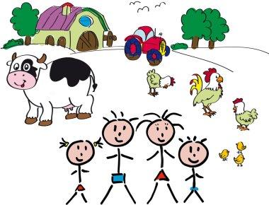 Family Farm animals