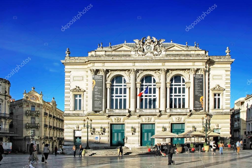 Place de la Comedie - Theater Square of Montpellier 9