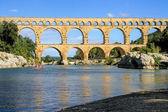 Pont du gard, sud della Francia