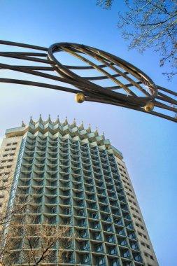 Kazakhstan Hotel in in Almaty, Kazakhstan.
