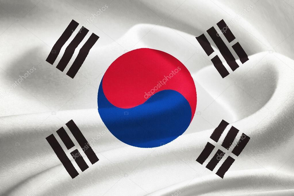 Trigramas Bandera Corea Sur