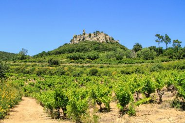 Gicon castle, ancient signal tower, Provence, South of France