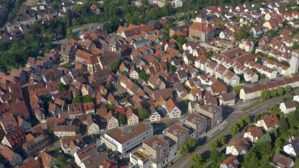 Luftaufnahme der Altstadt in Bietigheim-Bissingen.
