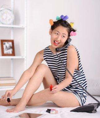 "Картина, постер, плакат, фотообои ""красивая азиатка"", артикул 52922137"