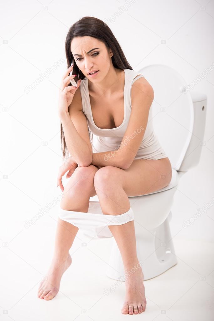 Girl Vomit Stock Photo Footage