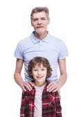 Fotografie großvater und enkel