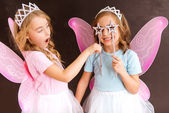 Photo Young fairy queens