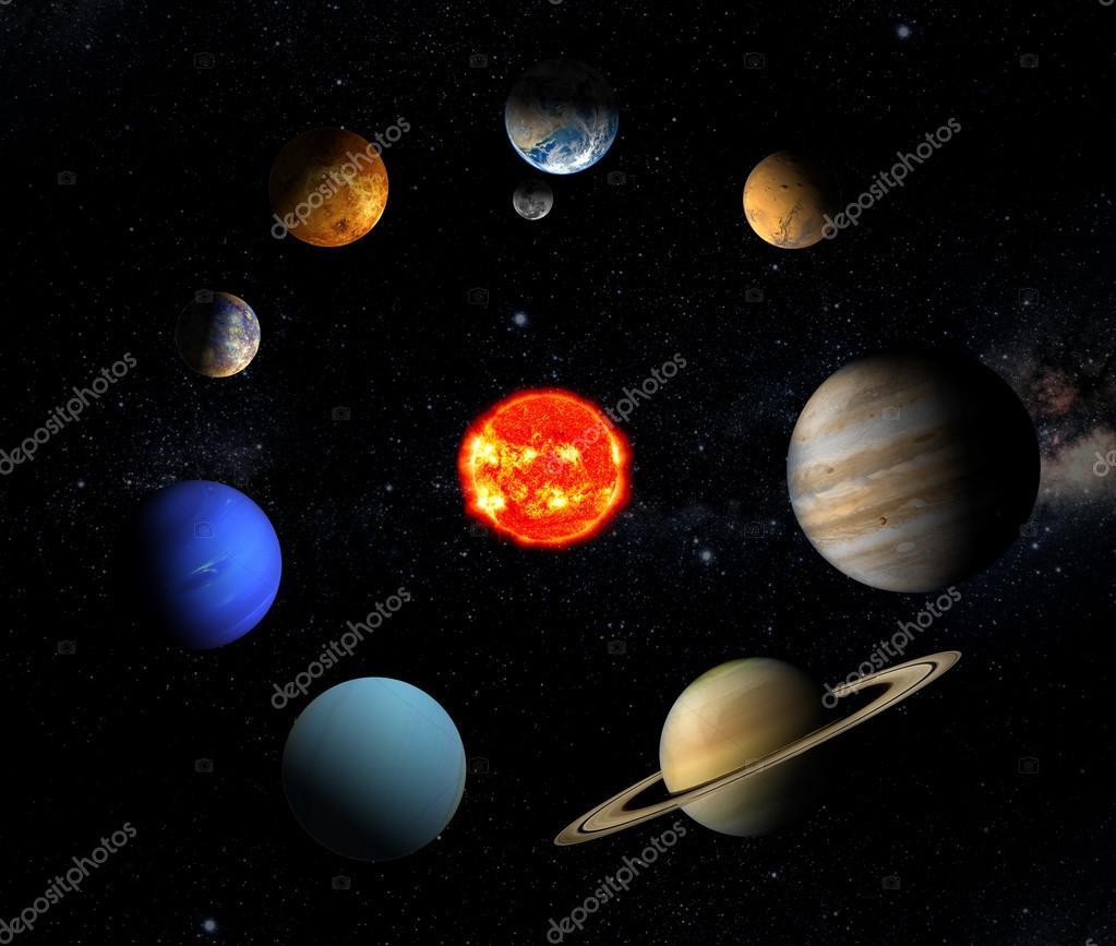 its nine planets and sun - photo #17