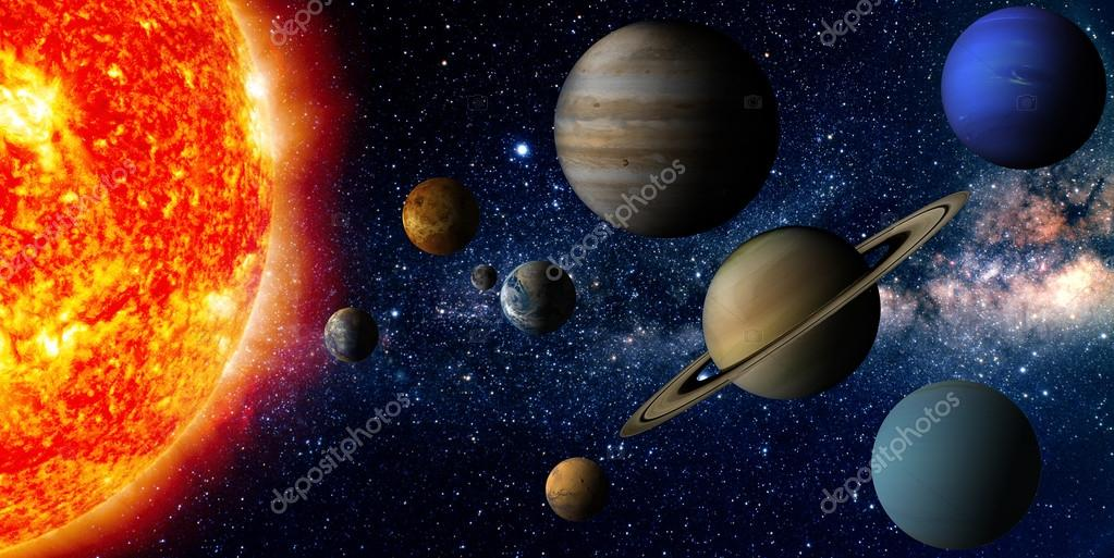 planets and solar system - HD