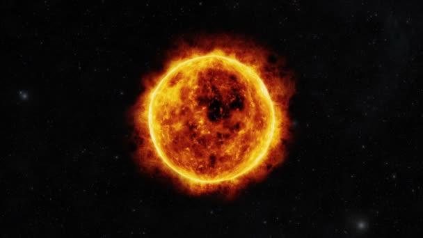 povrch slunce