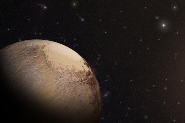 The Pluto shot from space