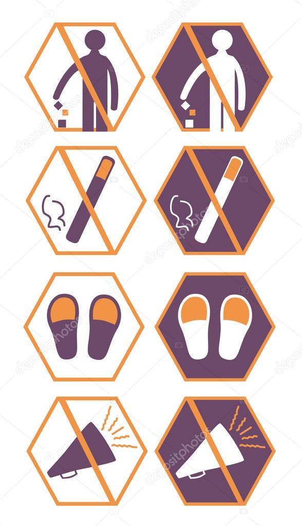Picture Symbols For Hospital The End Stock Vector Kristinaiva