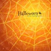 Halloween pozadí s pavučina