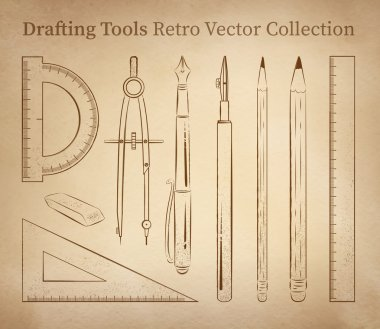 Drafting tools set