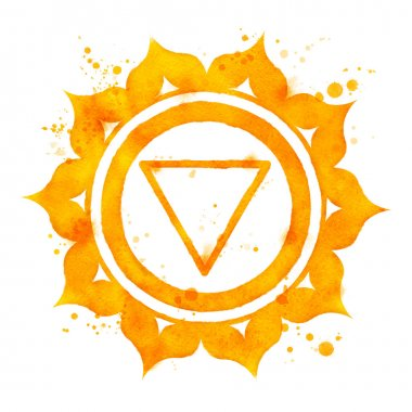 Manipura chakra symbol.