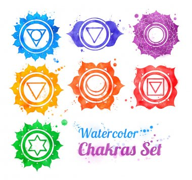chakra symbols collection