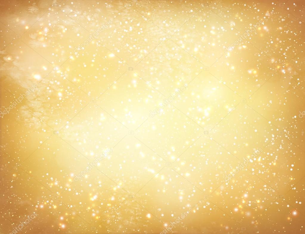 Gold Christmas grunge background