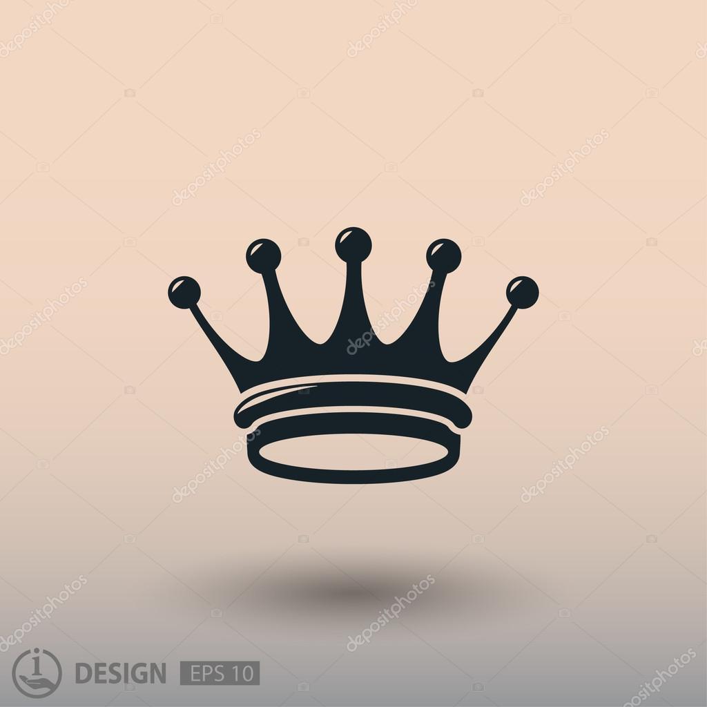 f0ecfc7c80f Symbol koruny pro design — Stock Vektor © hristianin  124135624