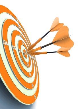 Target Success concept