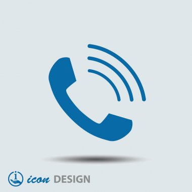 Phone icon. vector illustration stock vector