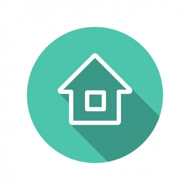 Pictograph of home icon