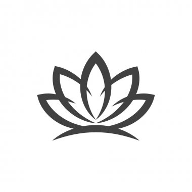Pictograph of lotus flower