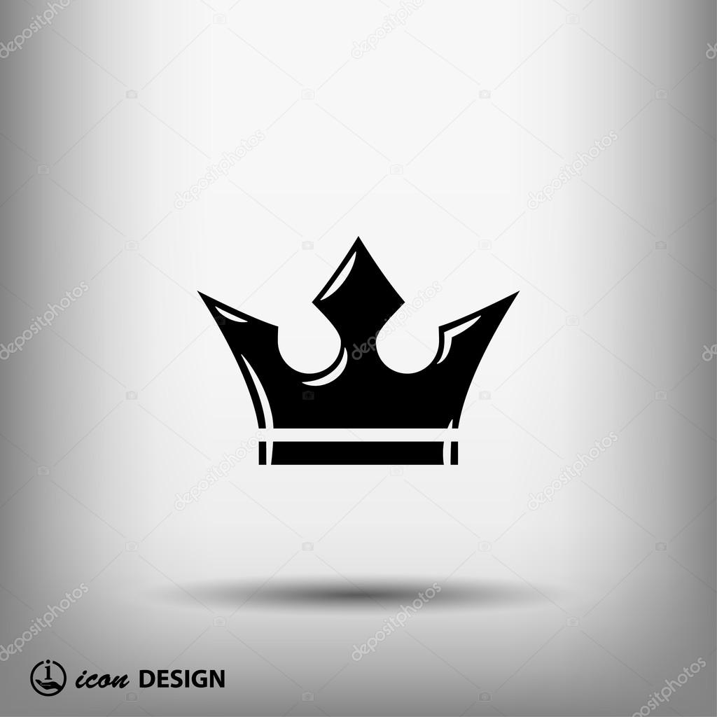 pictograph of king crown � stock vector 169 hristianin 69843241