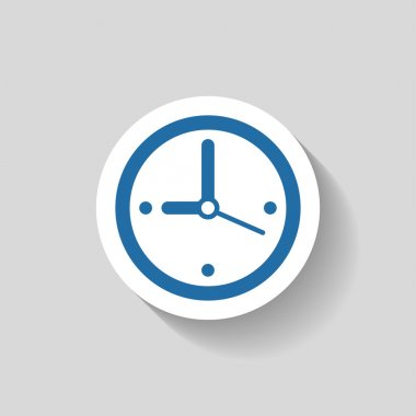 Pictograph of  clock icon