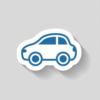 Pictograph of car icon