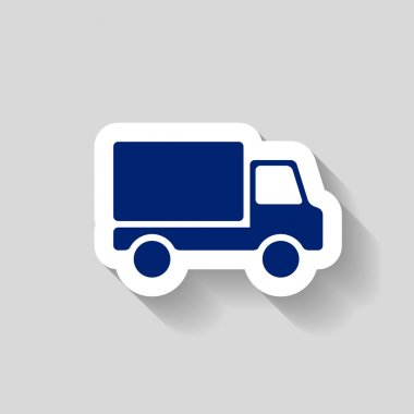 Pictograph of truck icon