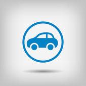 Fotografia Pittogramma dellicona dellautomobile